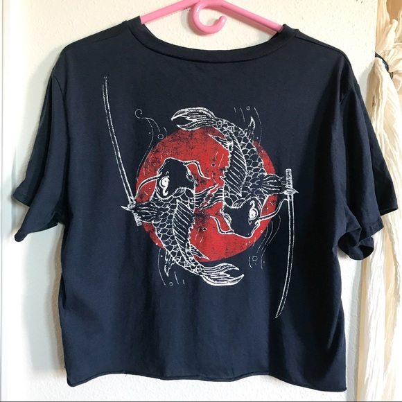 c3bb7ac1 Local Lab Tops   Cropped T Shirt   Poshmark